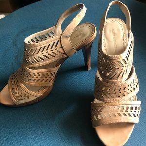 Adrienne Vittadini Open Toe Heels